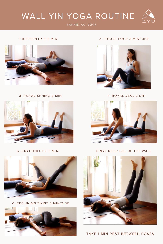 34++ Yin yoga wall poses ideas in 2021