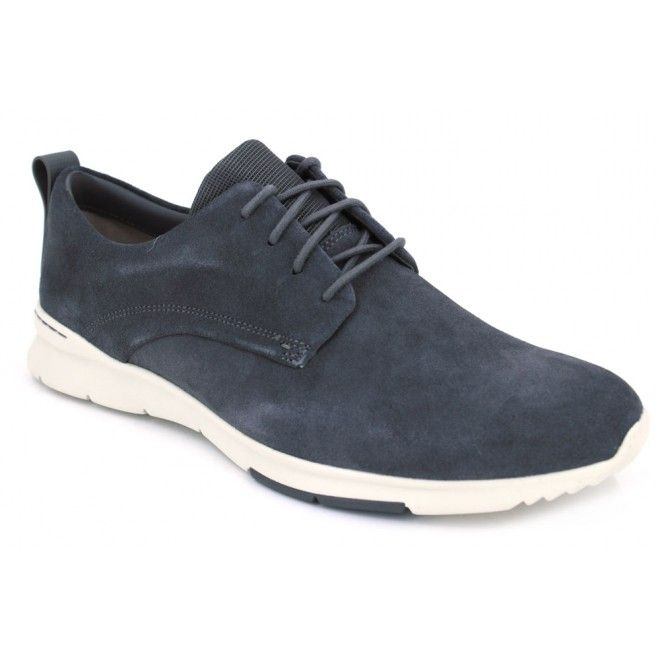 Clarks Casual Hombre Zapatos Sirtis Mix En Piel Marrón Tamaño 41 oBwEy0