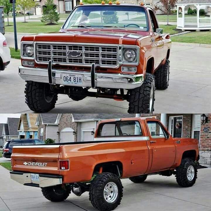 Burnt Orange Squarebody Chevy Lifted Trucks Chevy Pickups New Trucks