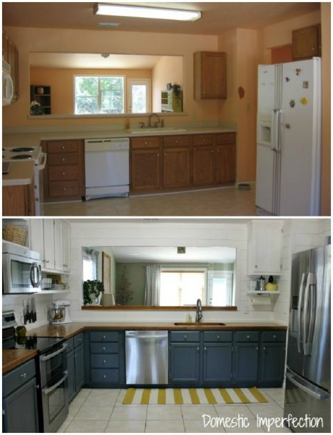 farmhouse kitchen on a budget the reveal budget kitchen remodel