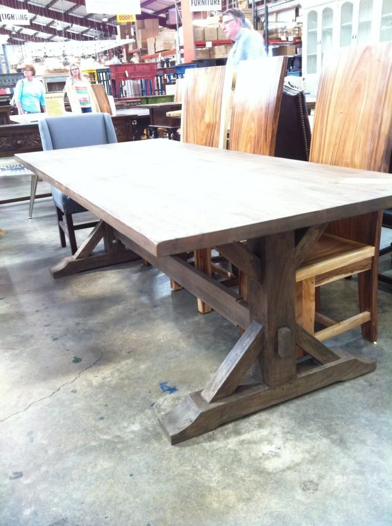 Salvage Shopping Dining Room Table Rustic Dining Table Dining