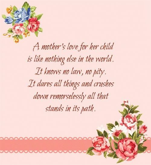 A Mothers Love For Her Child Mom Mother Happy Mothers Day
