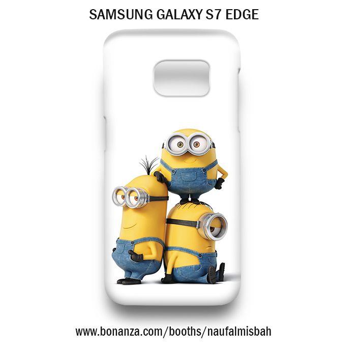 Funny Despicable Me Minions Samsung Galaxy S7 EDGE Case Cover