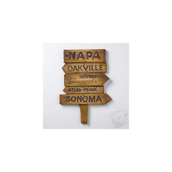 Personalized Street Sign (Napa) ($50) ❤ liked on Polyvore ...