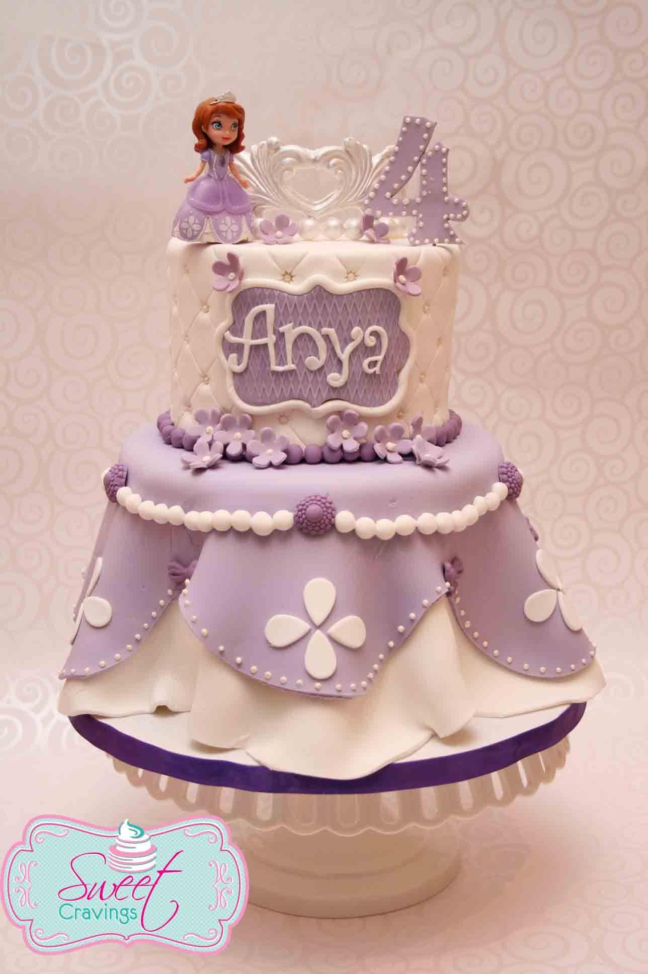 sofia the first inspired cake http www facebook com