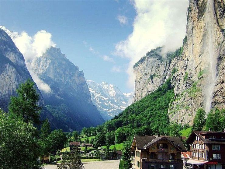 Lauterbrunnen valley, Swizerland