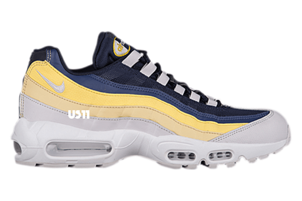 Nike Air Max 1, 90 & 95 to Release in Yellow & Blue