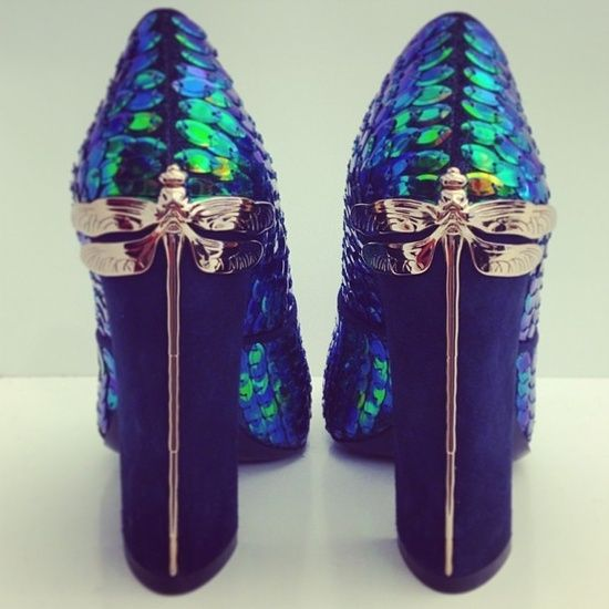 Dragonfly Shoes by Tory Burch by Eva too beautiful (if I was 30 years  younger