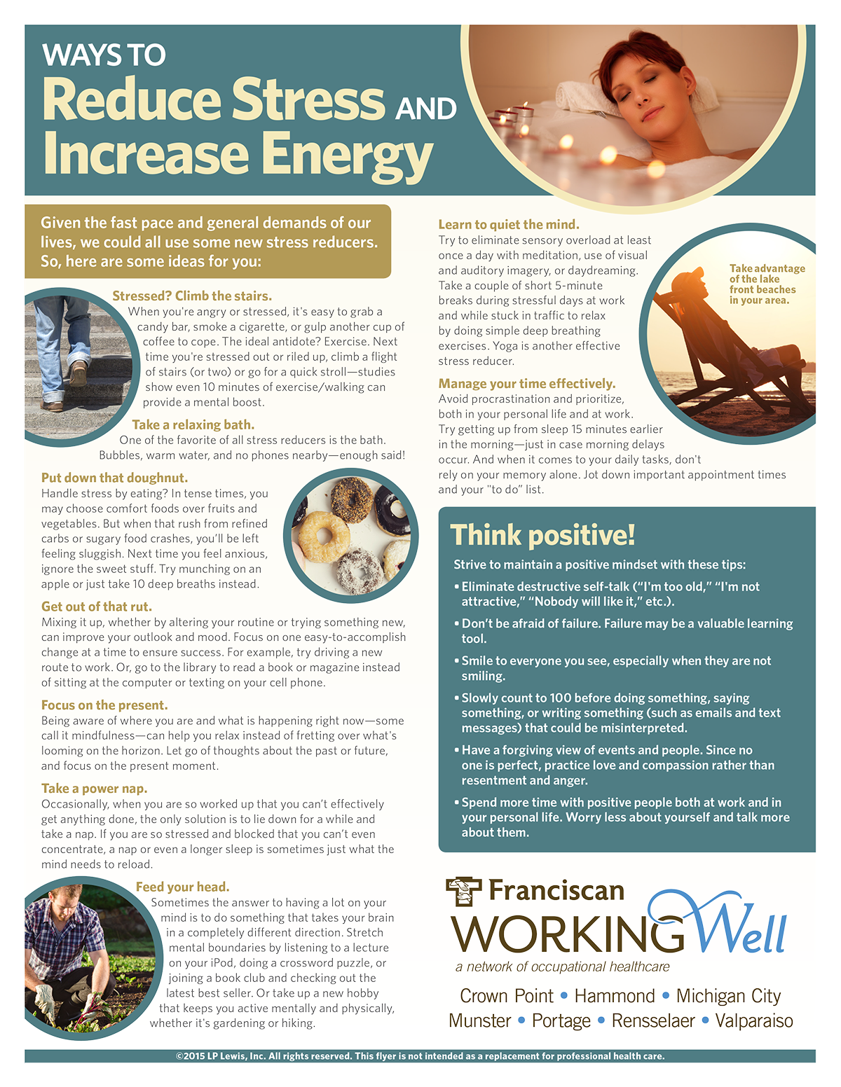 Reduce Your Stress Increase Your Energy! Health & Wellness