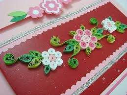 want to decorate a frame for a wedding invitation with quilling and hawaiian colors - Google Search
