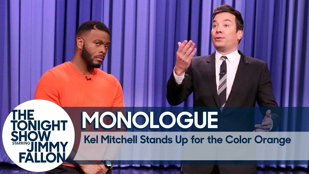 Kel Mitchell Stands Up For The Color Orange Monologue You