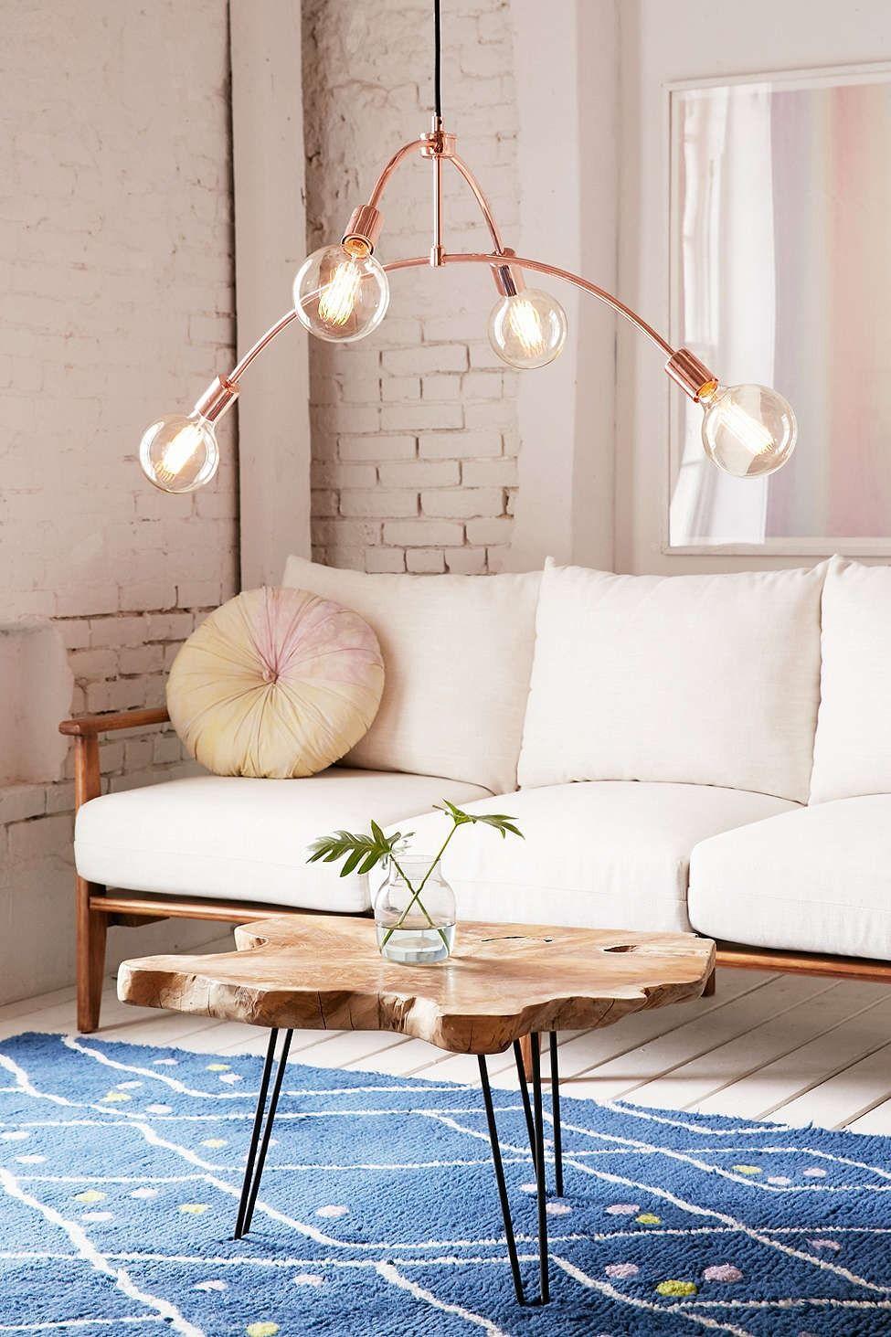 Wohnzimmer spiegelmöbel freja pendant light  roooooomsss  pinterest  haus wohnen und