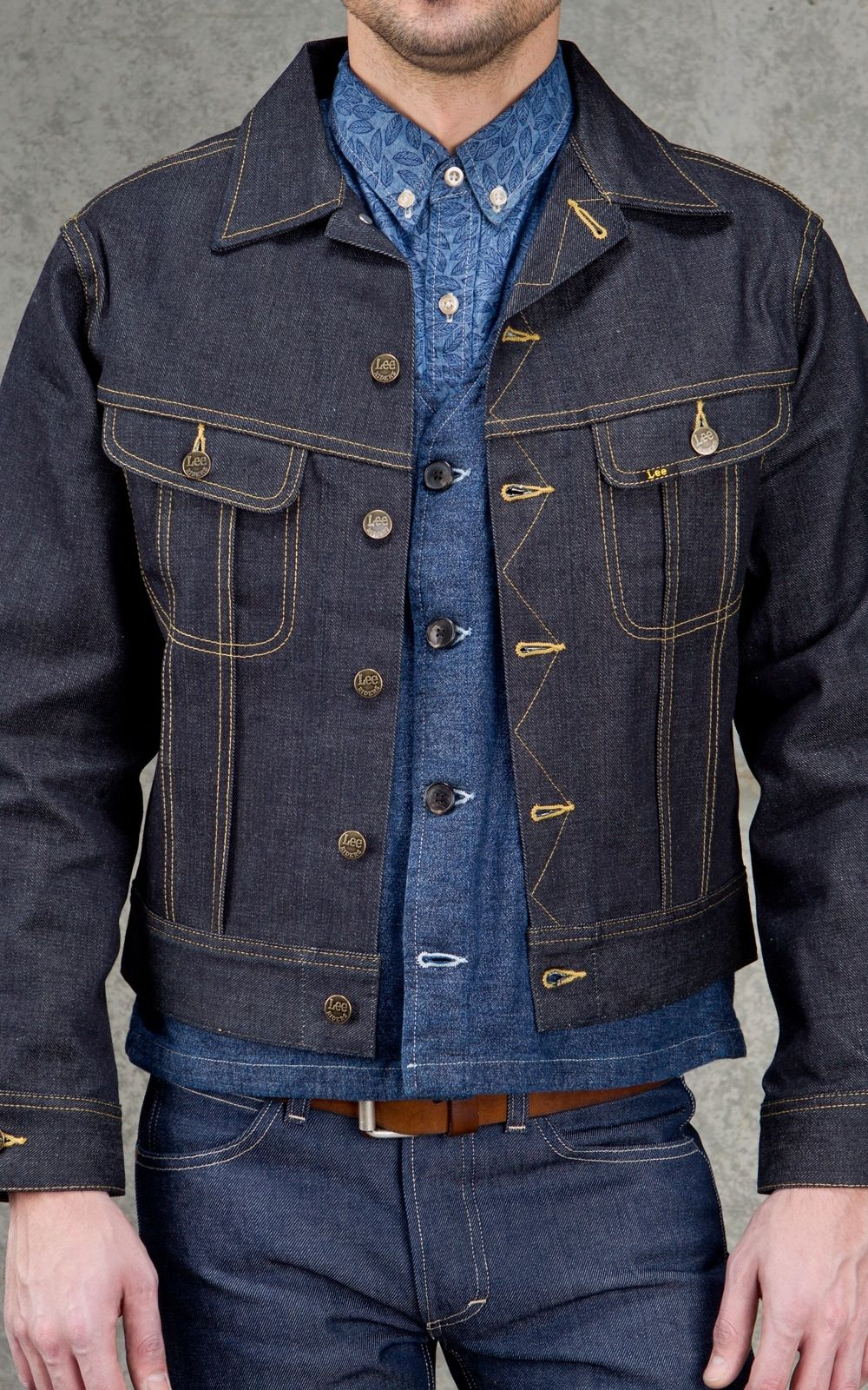 lee 101 j 1946s rider jacket dry lee overalls pinterest vintage. Black Bedroom Furniture Sets. Home Design Ideas