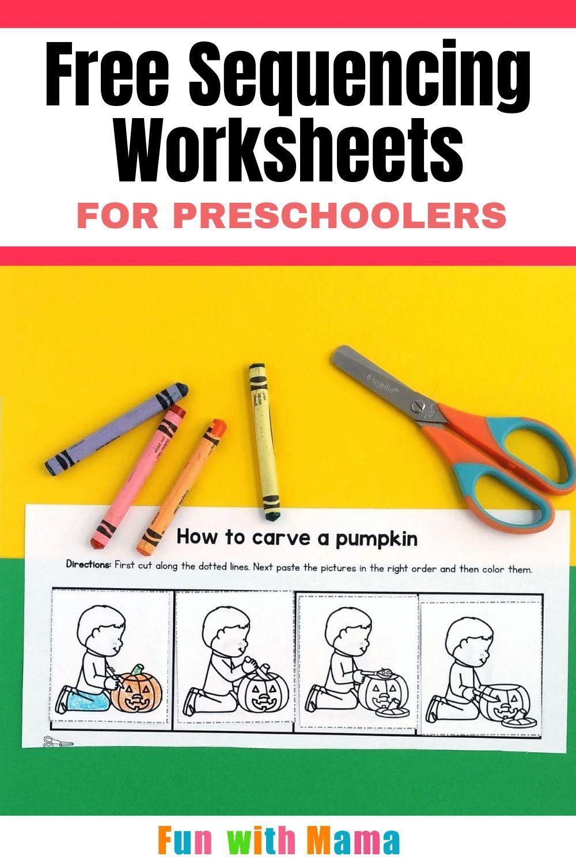 Free Sequencing Worksheets For Preschoolers Sequencing Worksheets Preschool Worksheets Sequencing Activities [ 1500 x 1000 Pixel ]