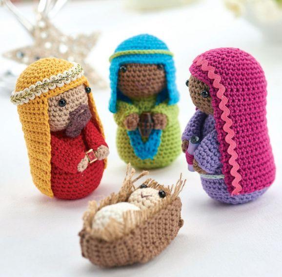 Crochet nativity: part 2 - Free Knitting Patterns - Amigurumi ...