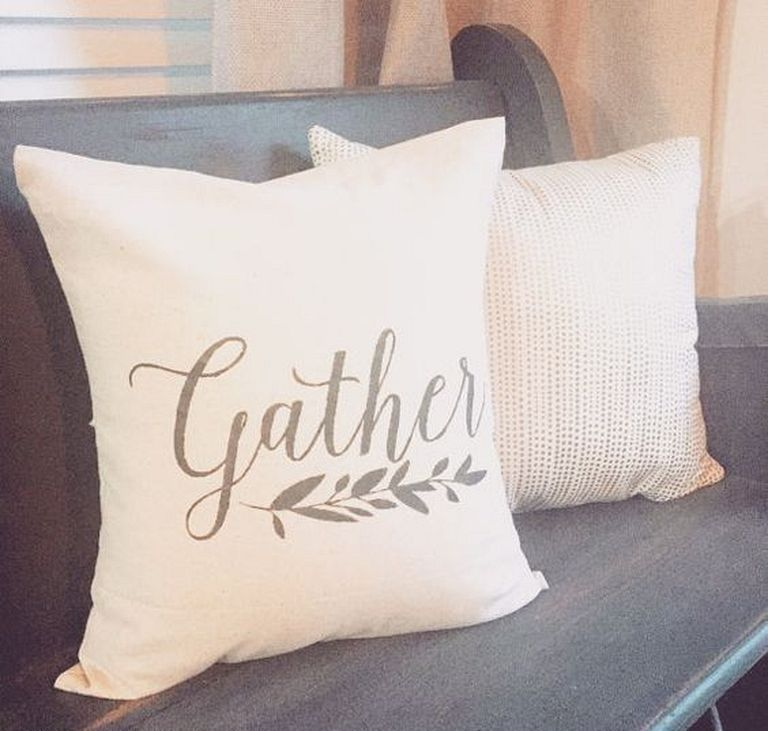 20+ Easy DIY Pillow Cover Design Ideas With Word