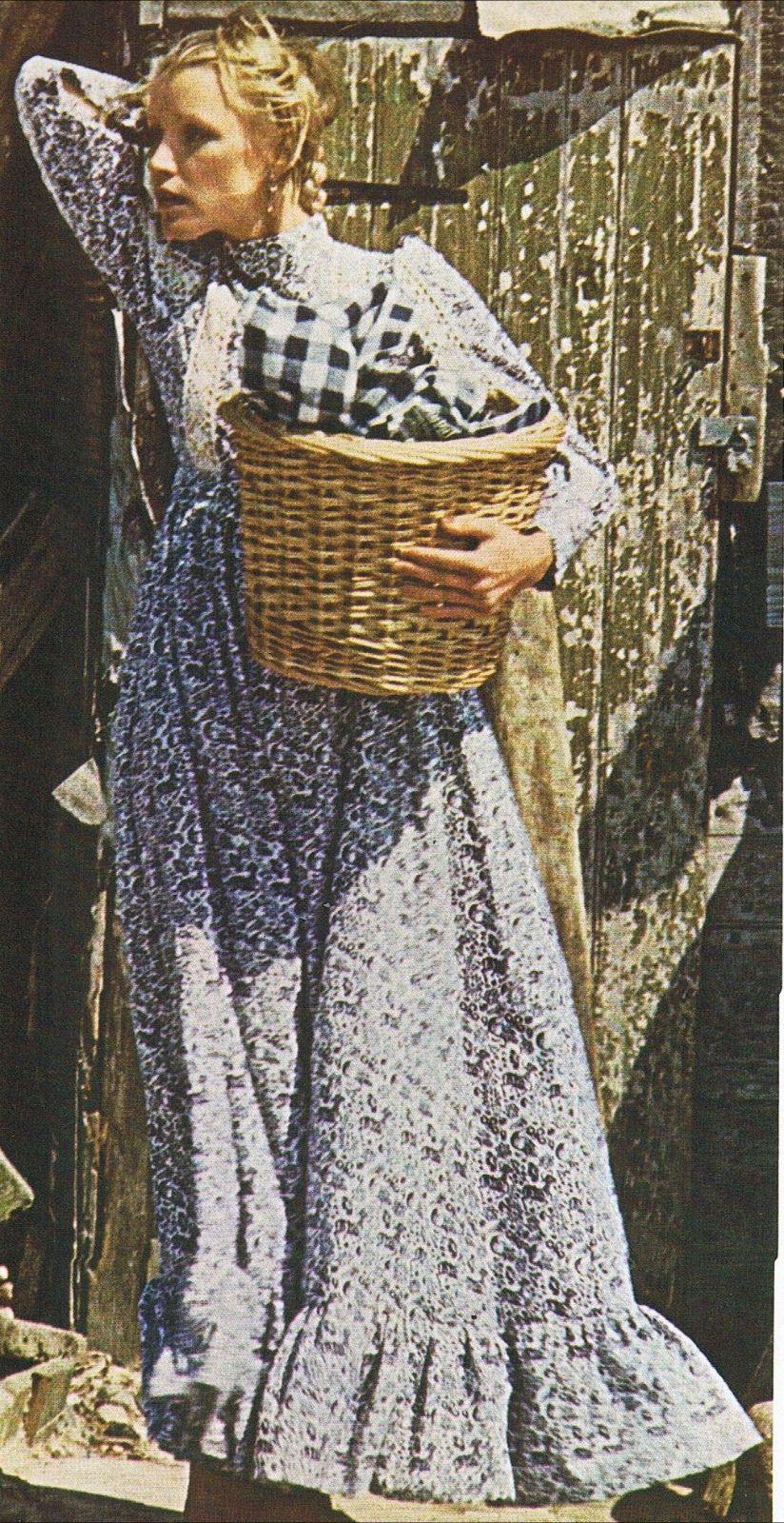 Vintage 70s Laura Ashley Dress