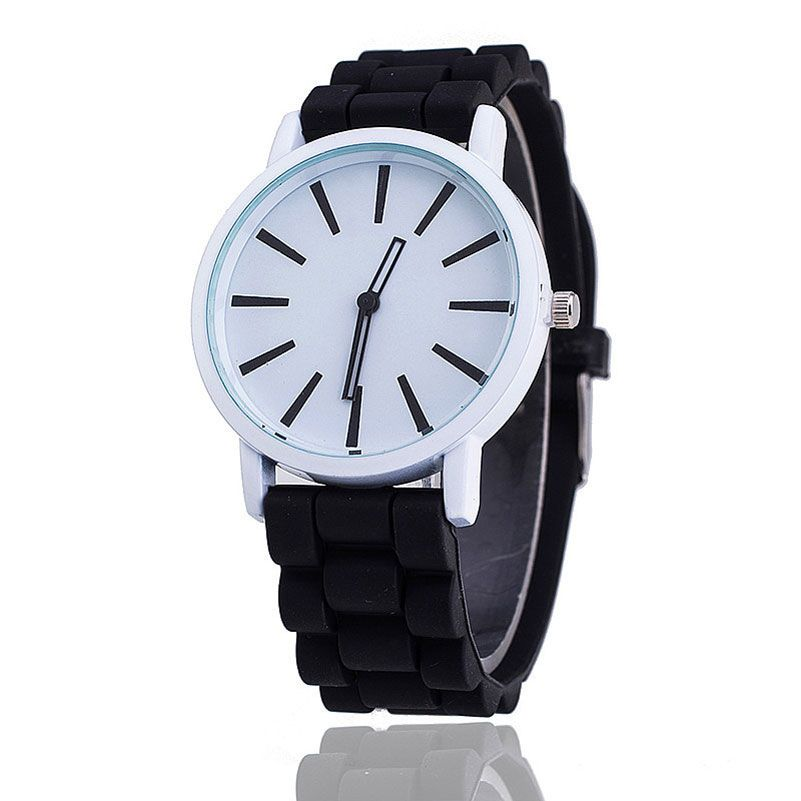 $3.99 (Buy here: http://appdeal.ru/7tdd ) Women Sports Watch Mens Watches Style Wristwatch Jelly Color Silicone Quartz Analog Dress Wrist Watch Men Fashion Student Clock for just $3.99