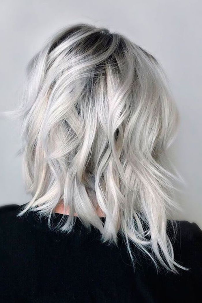 Photo of ▷ 1001 + ideas for silver blonde hair color that inspire you