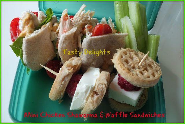 Tasty Delights Tasty Waffle Sandwich Nutrition Recipes