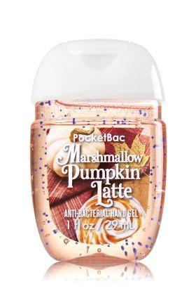 Marshmallow Pumpkin Latte Pocketbac Sanitizing Hand Gel Bath
