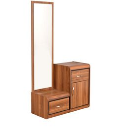 P A Dressing Table Is Small With Mirror And One Or Two Rows Of Drawers To Hold