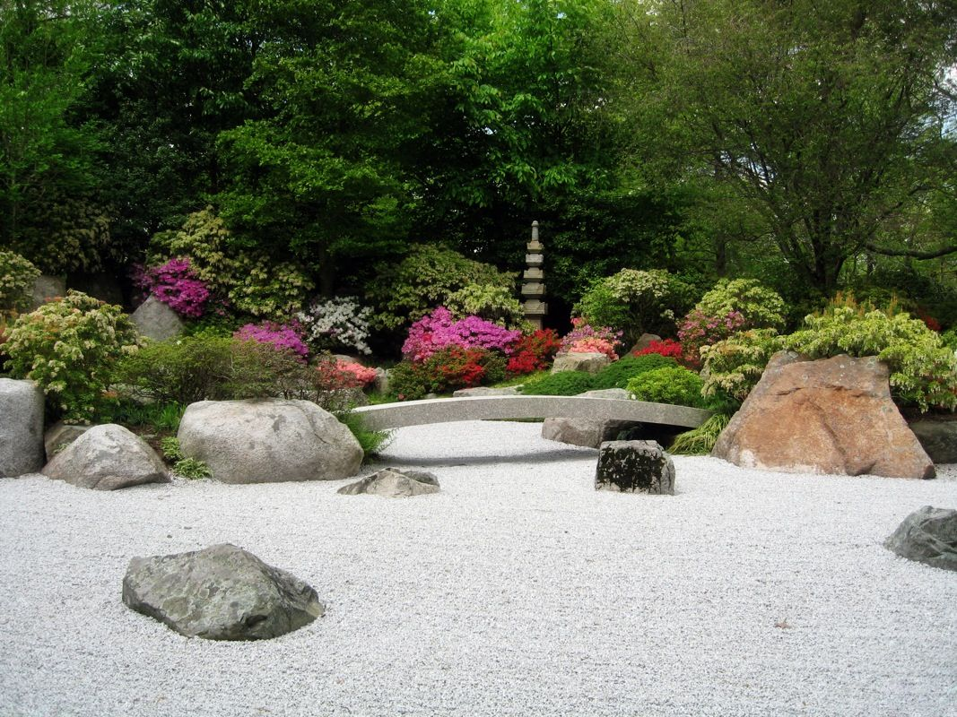 Tsubo en is a private japanese zen buddhist garden of the for Garden design ideas ontario