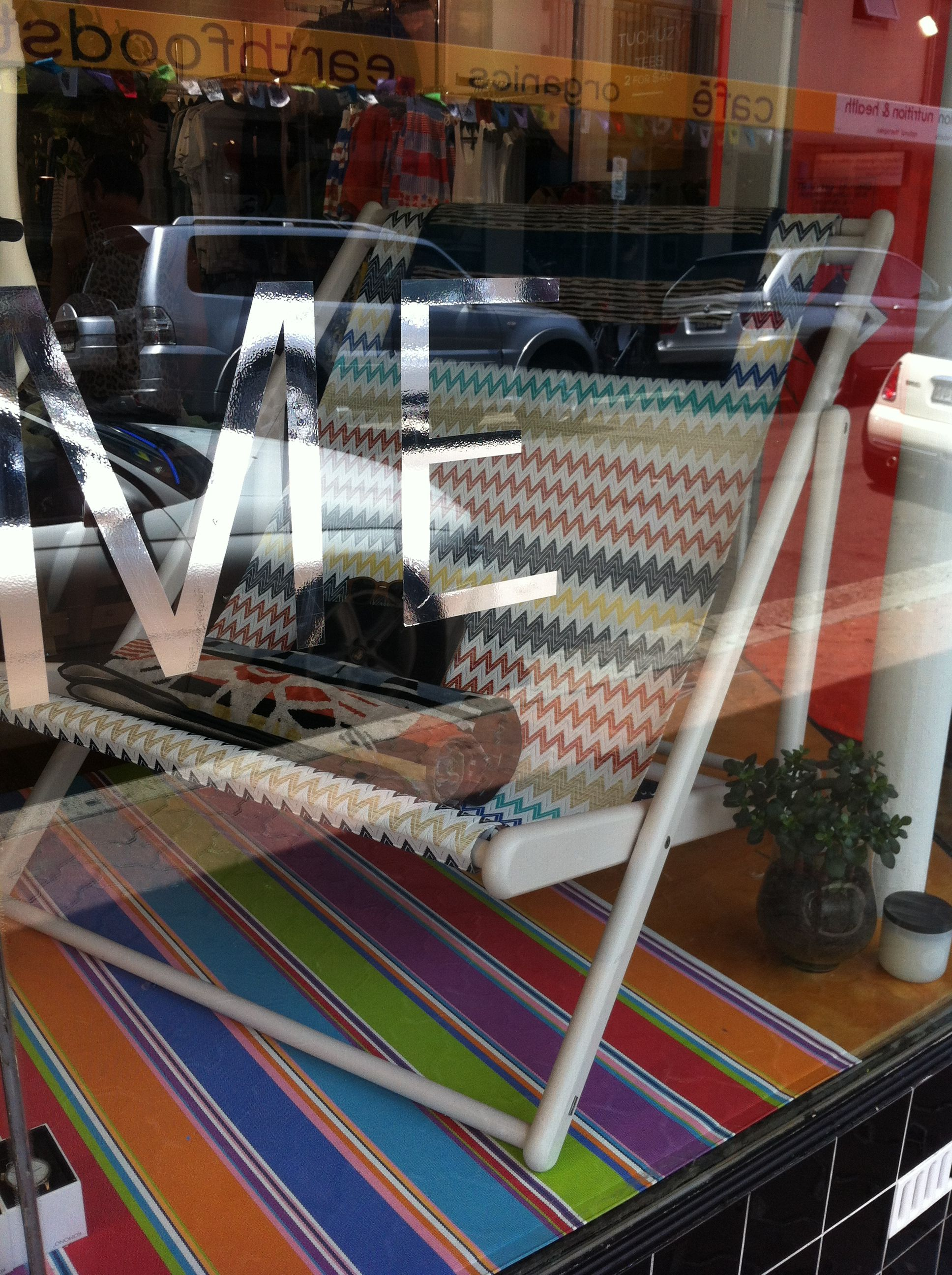 Missoni lounge chair for summer!