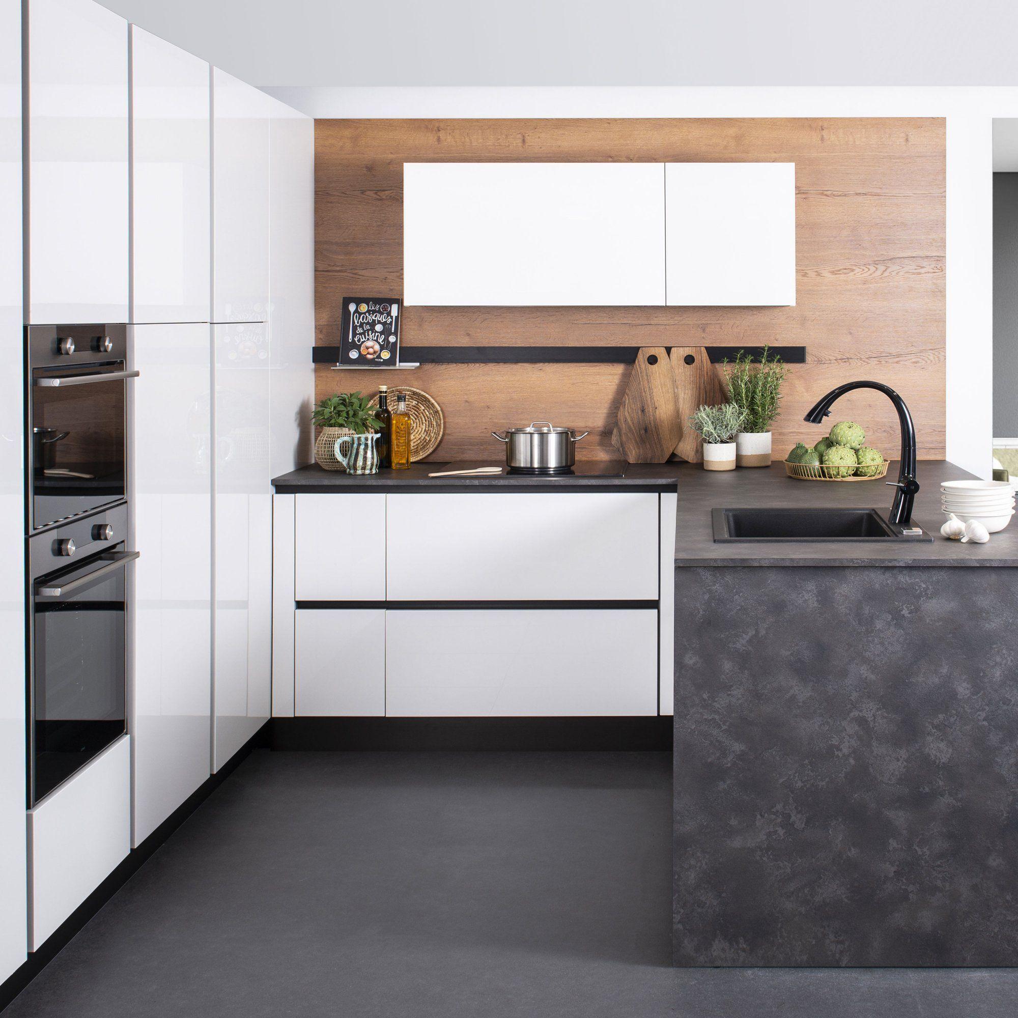 17 Nouvelles Cuisines Ultra Canons En 2020 Cuisine Moderne Cuisine Laquee Cuisine Darty