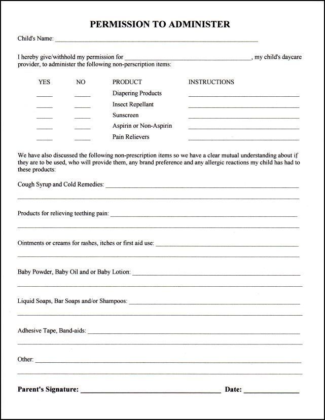 Daycare Medical Forms | Pinterest | Daycare forms and Nanny binder on baby checks, baby activities, baby banners, baby invitations, baby labels, baby directions, baby transportation, baby dividers,