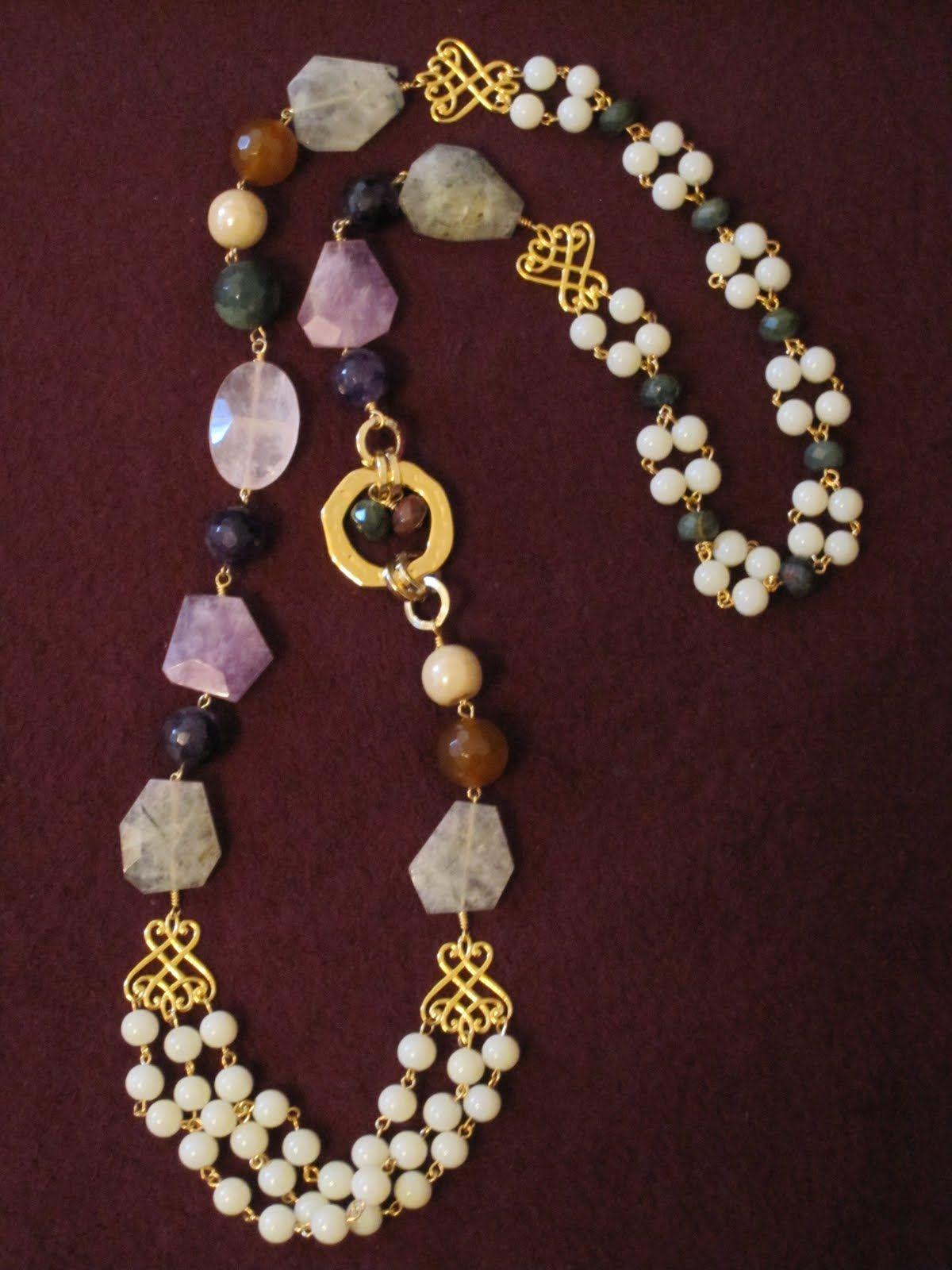 64a543b3 collares de piedras de bisuteria - Buscar con Google - Crafting Now ...