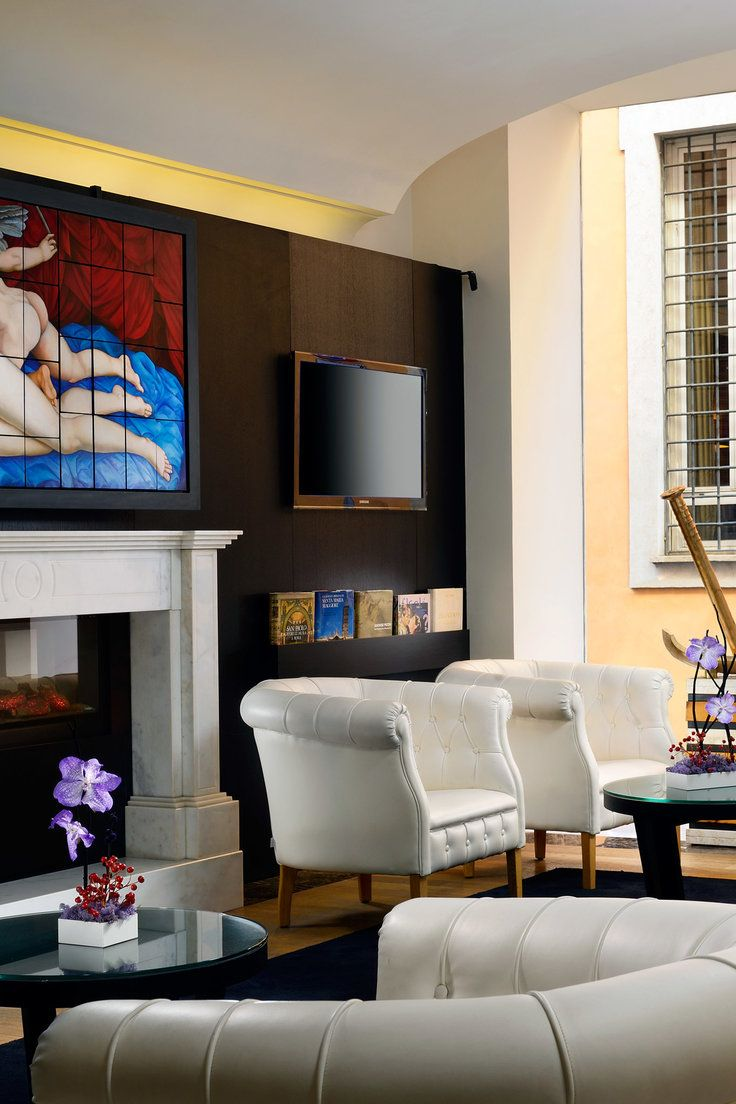 THE FIRST Luxury Art Hotel Roma - Rome, Italy - The pared-down ...
