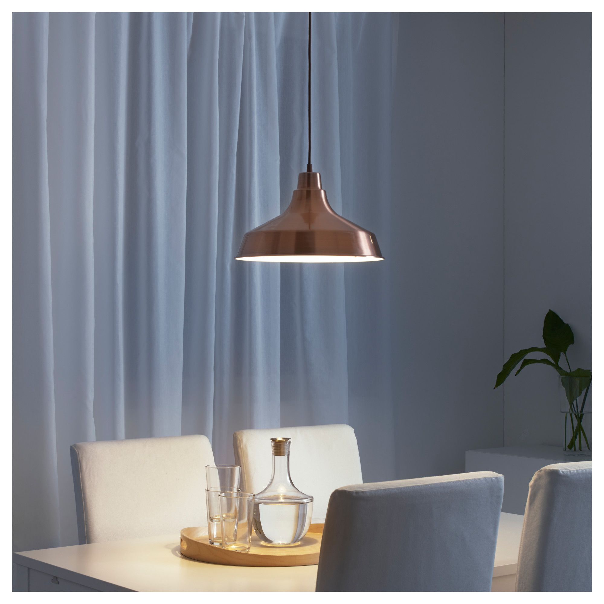 Ikea VindkÅre Copper Pendant Lamp