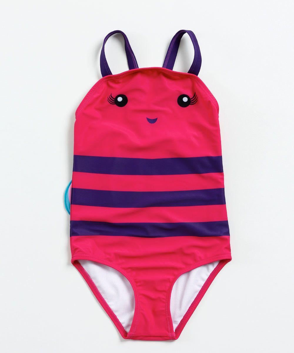 d6c6890d6 Image_ Maiô Infantil Estampa Borboleta Asas Marisa   Bikinis em 2019 ...