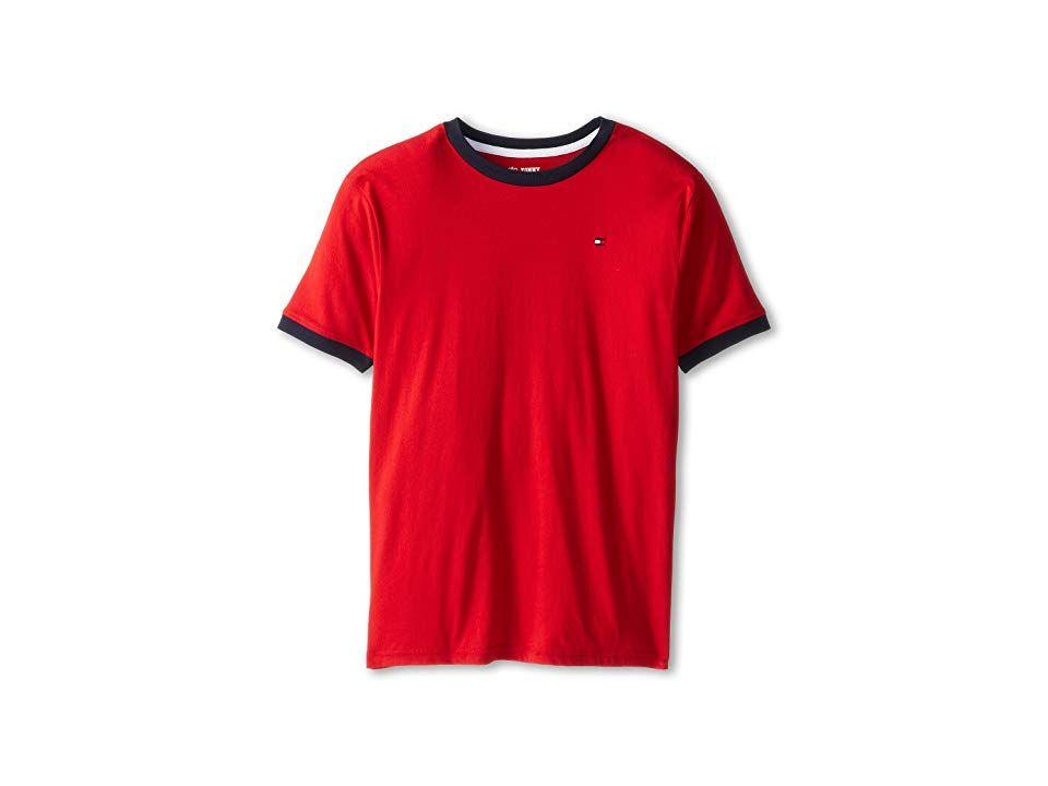 Tommy Hilfiger Kids Ken Tee (Big Kids) Boy's T Shirt Regal