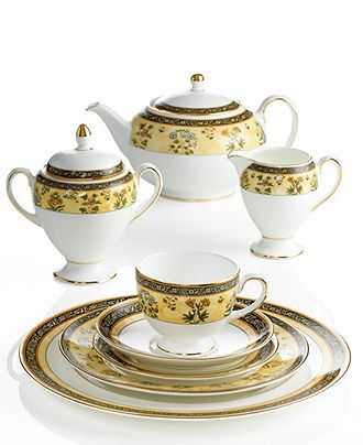 Wedgwood Dinnerware India Collection Fine China Dining
