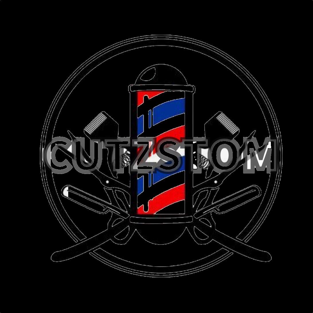 Cutzstom Barber Logo Barber Tattoo Barber Shop Decor