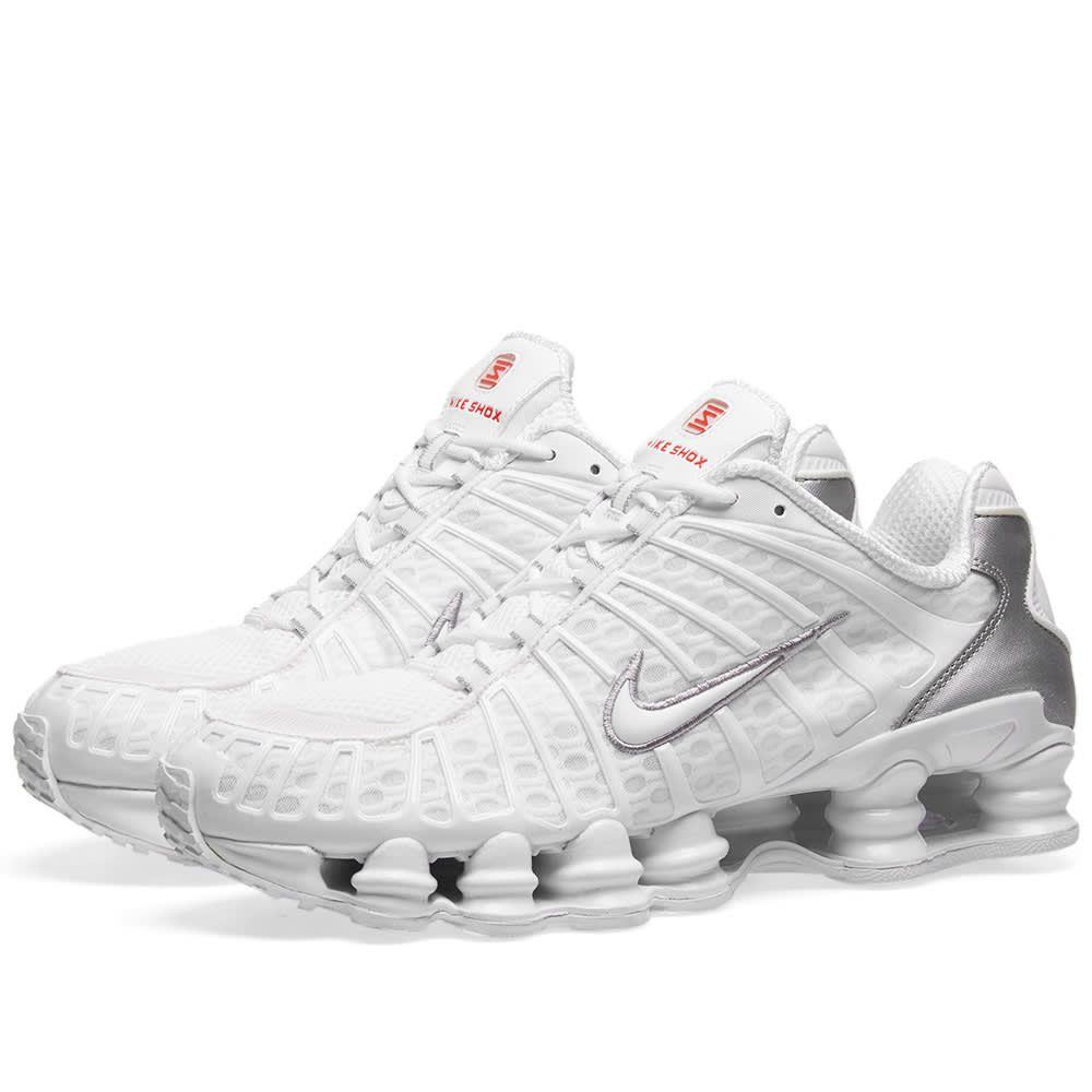 Nike Shox Tl Trainers White   ModeSens