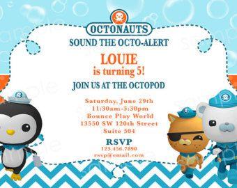 octonauts birthday party