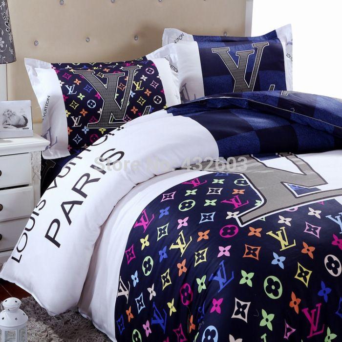 Name Brand Comforter Sets Designer Bed Home Textile 100 Cotton