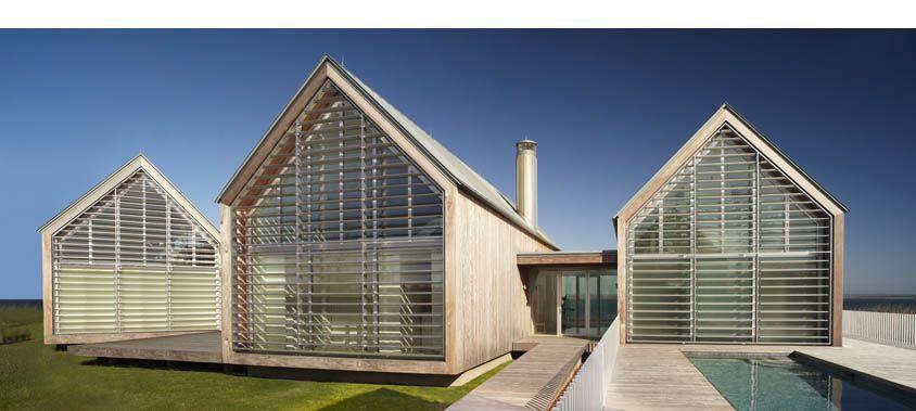 Roger Ferris Partners Llc Gable Roof Design Ocean House