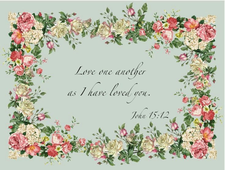 Love One Another as I Have Loved You.