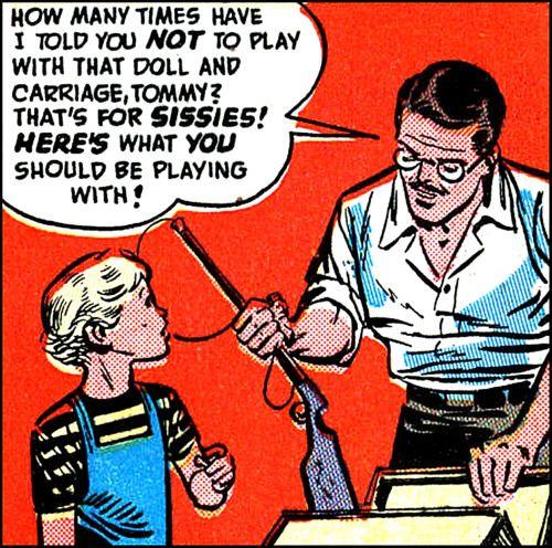 Misogyny Retro Comic Vintage Comic Books