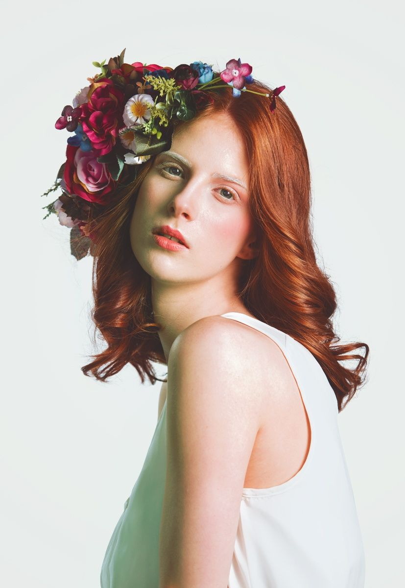 Spring portrait by tijana morača on px flower girls pinterest