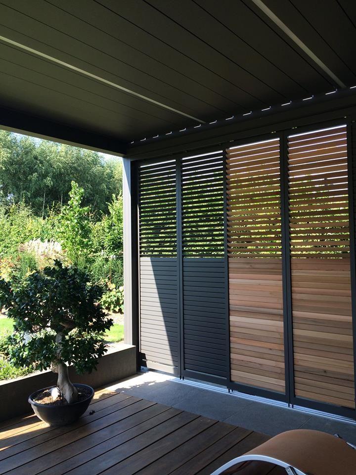 pin von renson auf louvered patio covers camargue pinterest garten terrasse balkon und. Black Bedroom Furniture Sets. Home Design Ideas