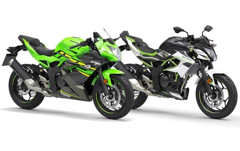 2019 Kawasaki Ninja 125 And Z125 With A Capacity Of 125cc Both Motorcycles Fall In Europe S A1 Entry Level Licensing Tier Kawa Kawasaki Kawasaki Ninja Bike