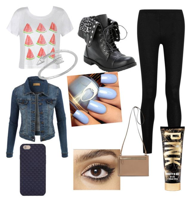 """""""My Legit Outfit Today #5"""" by fashionmaster101 ❤ liked on Polyvore featuring Donna Karan, Ally Fashion, LE3NO, Charlotte Tilbury, Tory Burch, women's clothing, women's fashion, women, female and woman"""