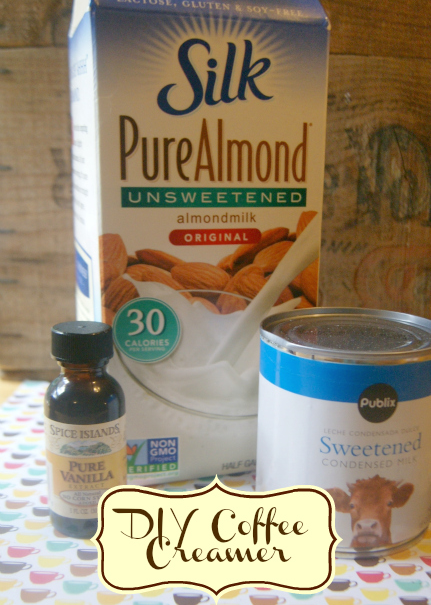 Homemade Coffee Creamer Recipe: Just almond milk and ...