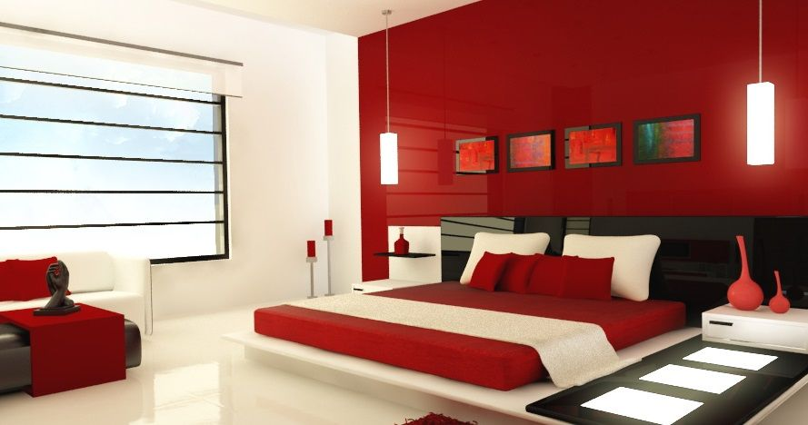 red and white bedroom furniture. Beautiful Modular Bedroom Furniture In Red And White Interior Room Modern Decoration Finished With