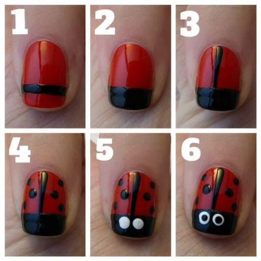 Resultado de imagen para diseños de uñas faciles (con ...